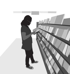 Book shops vector