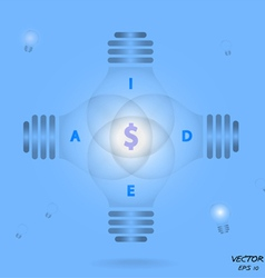 Creative Template vector image