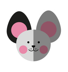 Cute animal icon image vector