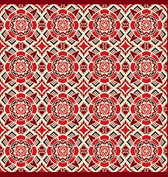 ethnic abstract seamless festive pattern vector image