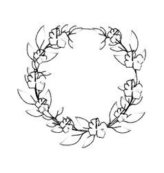 Leaf around symbol vector