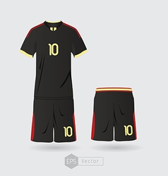 mexico team uniform 03 vector image