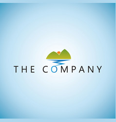 Mountain logo ideas design vector