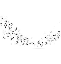 Notes dance vector