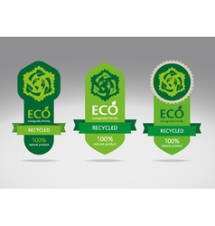 Recycling Label vector image