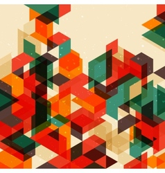 Retro abstract background vector