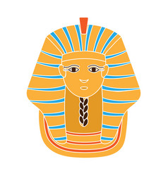 Sphinx icon in colour style isolated on white vector