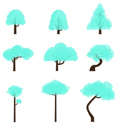 Tree Collection 8 vector