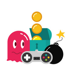 video game design vector image