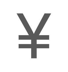 yen symbol icon simple vector image