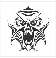 Virus computer Demon Phantom Alien Predator vector image vector image