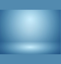 abstract soft blur of gradient blue studio and vector image