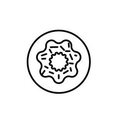 donate icon vector image