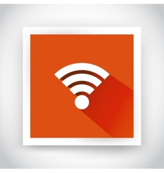icon of wifi for web and mobile applications vector image