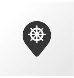 label icon symbol premium quality isolated wheel vector image