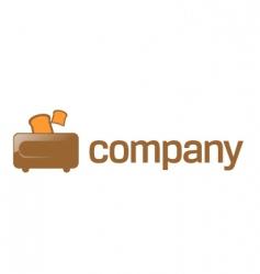 toaster company logo vector image