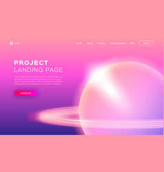 Trend gradient design for app development web vector