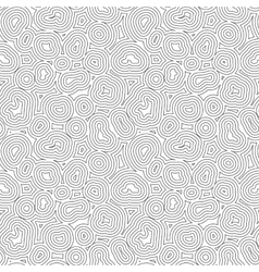 Seamless Topographic Pattern Organic Or vector image