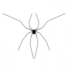 harvestman silhouette vector image vector image