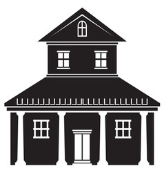 House icon4 resize vector image
