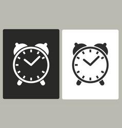 Clock - icon vector