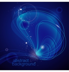 abstract deep-water background vector image