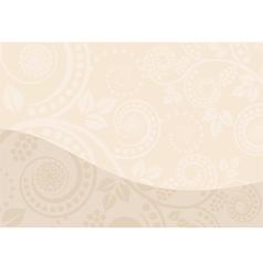 Beige background vector