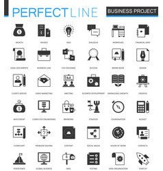 black classic corporate business project finance vector image