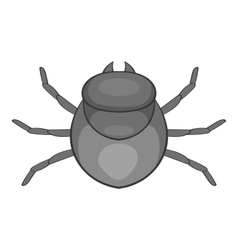 Harvest bug icon cartoon style vector