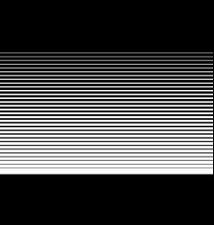 Parallel straight lines monochrome pattern vector