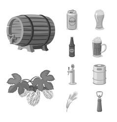 pub and bar sign set of vector image