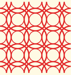 Seamless white red pattern vector