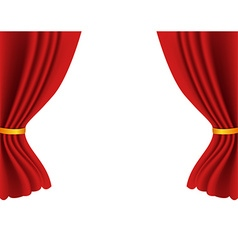 Theater curtains vector image vector image
