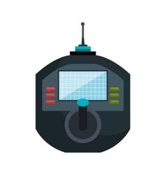icon drone remote control graphic vector image