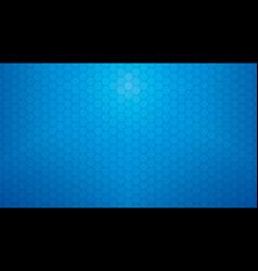 Deep blue hexagonal clear background vector