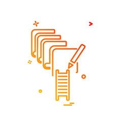 education icon design vector image