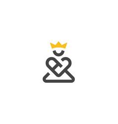 Guru king logo vector
