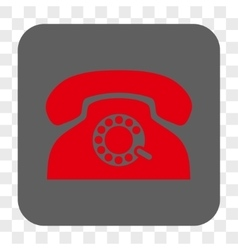 Pulse Phone Rounded Square Button vector