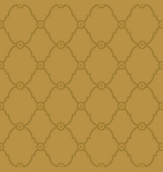 Seamless gold background pattern vector