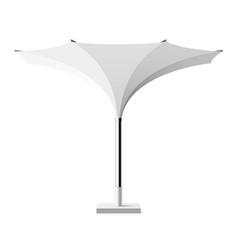 Sun shade tulip umbrella vector