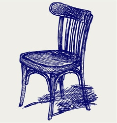 Chair classic vector image vector image