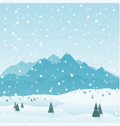 mountains3 vector image vector image