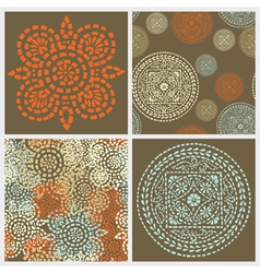 Decorative backgrounds vector image