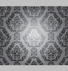 decorative wallpaper design vector image vector image