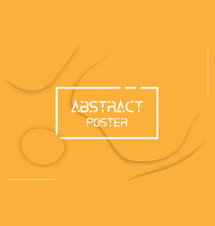colorful abstract poster background eps10 vector image