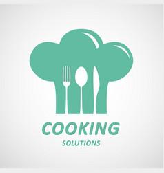 cooking ideas symbol vector image