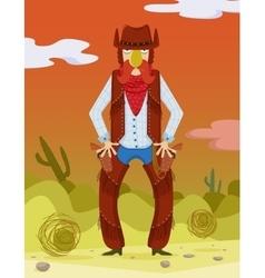 Cowboy Wild West vector