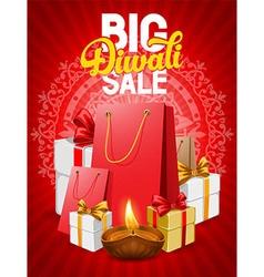 Diwali poster vector