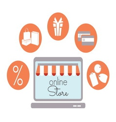 internet store1 resize vector image