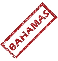 New Bahamas rubber stamp vector
